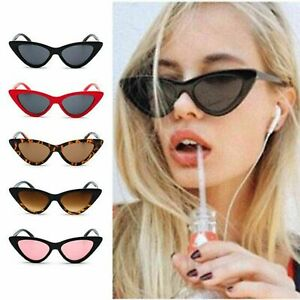 a91d80324ac HOT! Classic Cat Eye Sunglasses Small Retro Vintage Women Fashion ...
