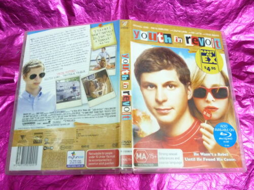 1 of 1 - YOUTH IN REVOLT : (DVD, MA15+) (EX RENTAL) FREE POST