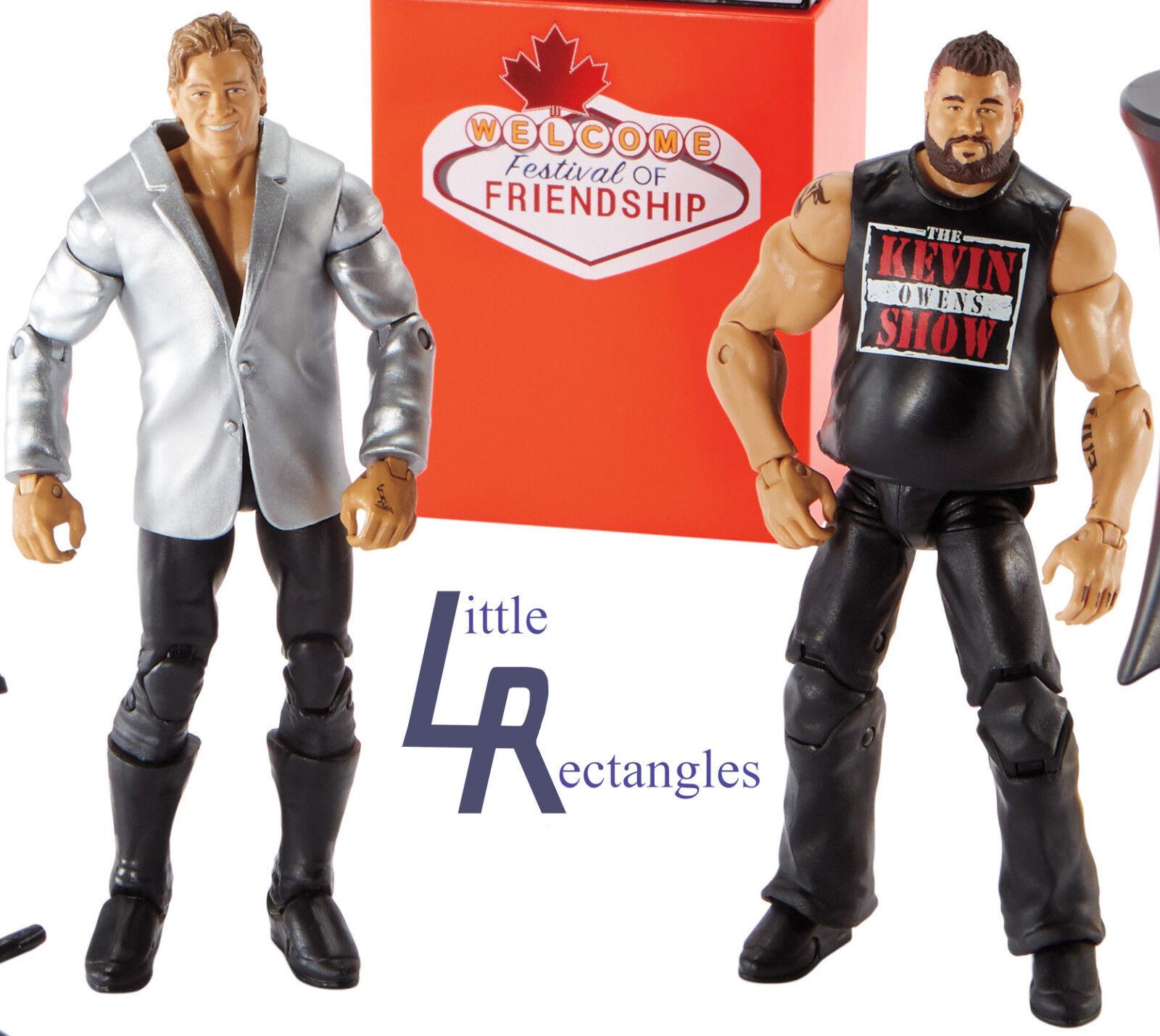 Wwe Figurines Figurines Figurines - Epique MoHommes ts - Kevin Owens & Chris Jericho - Mattel - Tout 2d2ff2