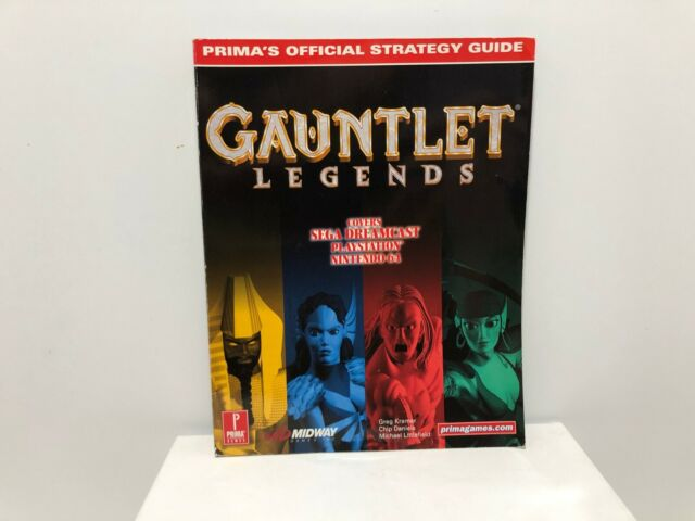 Gauntlet Legends - Prima's Official Strategy Guides