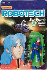 Vintage Matchbox Macross original Robotech Zor Prime MOSC MOC c-7+