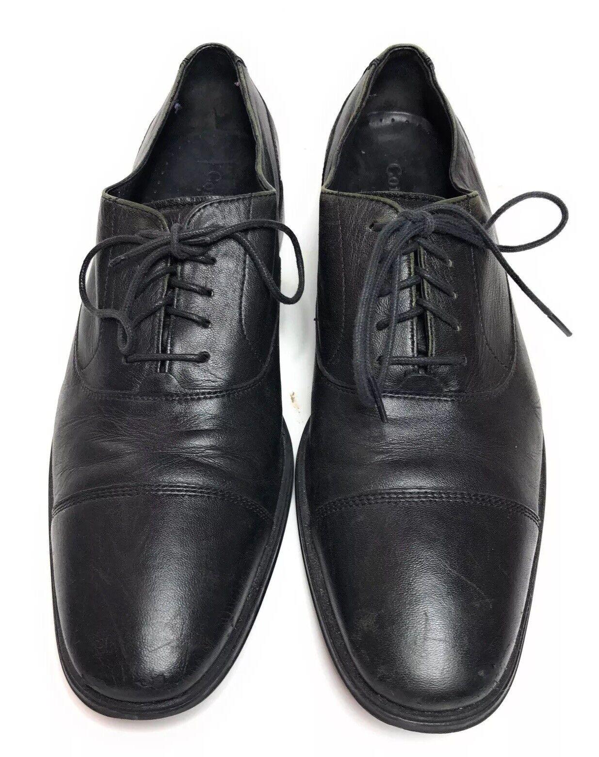 Cole Haan Men's Dress Black Leather Oxford shoes 10 M
