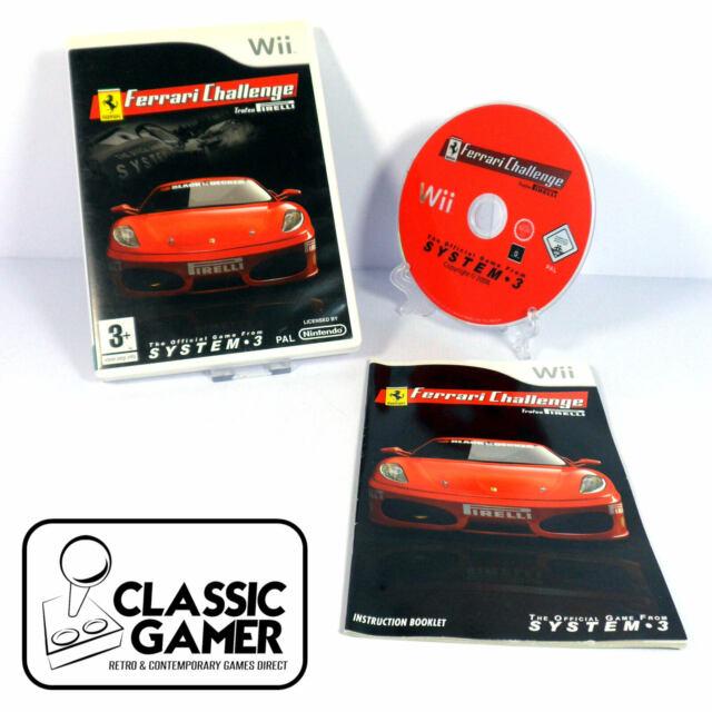 Ferrari Challenge Trofeo Pirelli Nintendo Wii Pal 1st Class Postage Günstig Kaufen Ebay