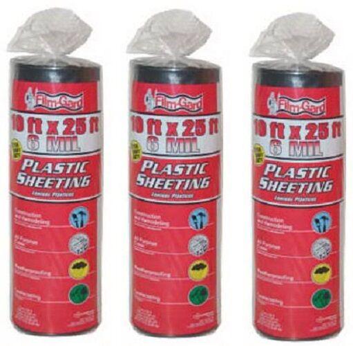 Frost king 4 Mil. Plastic Sheeting 10 X 25Multi Purpose