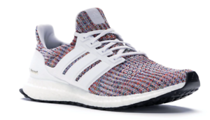 Adidas-Ultra-Boost-Ultraboost-4-0-Running-Shoe-White-Multicolor-Men-039-s-CM8111