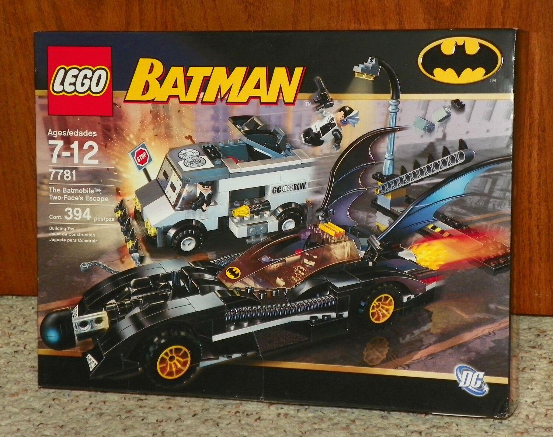 Lego 7781 Batman, el Batimóvil  Two-face Escape-NISB (2006 jubilados)
