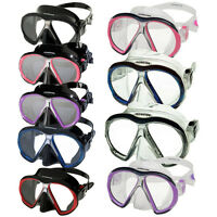 Atomic Ultra Clear Sub Frame Mask - 12 Colors And 2 Skirt Sizes