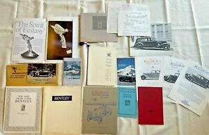 Lot of 1974-75 Rolls Royce Owner's Club Quality Brochures & Photos