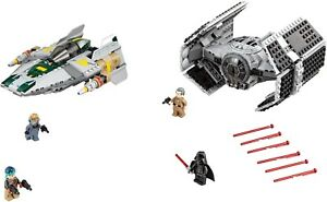 Lego 75150 Star Wars Vader Tie Advanced vs. A-wing - Neuf