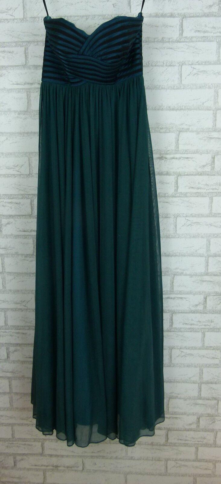 JADORE Evening Maxi Dress Sz 8 Grün