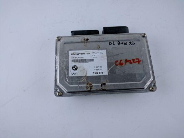 2006 BMW X5 Engine Control Computer Module Unit ECU ECM 7532878 OEM