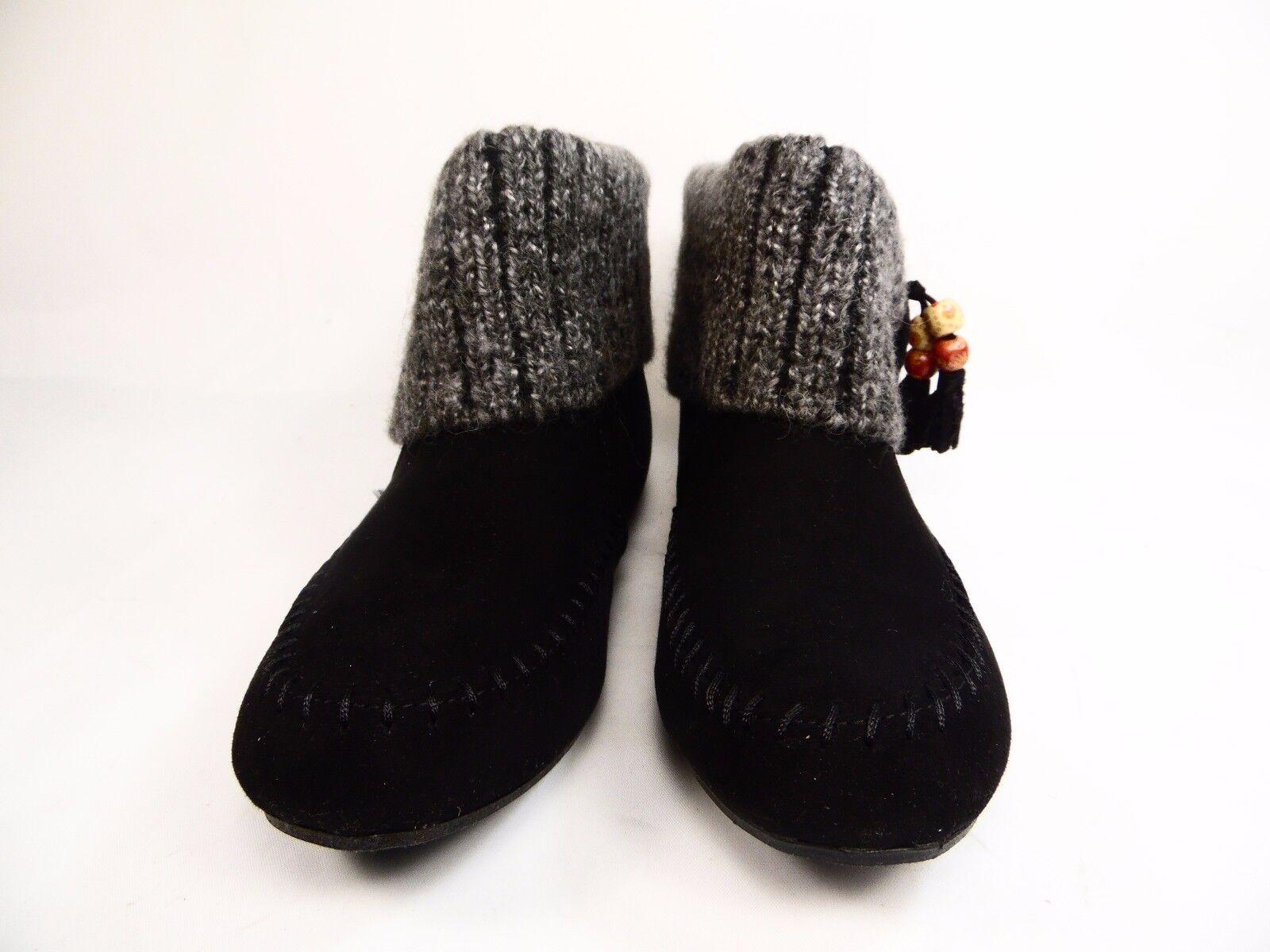 Arizona Jean Co. Women's Meeko Sweater Ankle Booties Chestnut  Size 7M