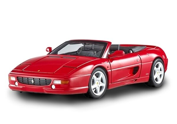 Ferrari 355 F355 spider rosso scale 1:18 Hotwheels ELITE NEW in Box