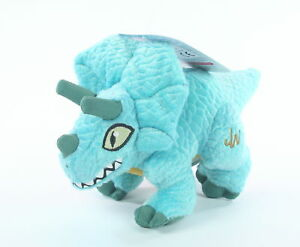 JURASSIC-WORLD-plush-TRICERATOPS-7-034-soft-toy-dinosaur-park-hasbro-NEW