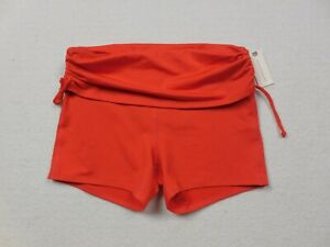 NEW-Anthropologie-Pure-Good-Shorts-Womens-Extra-Small-Orange-Yoga-Gym-Workout