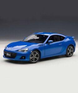 NEU-Auto-Art-1-18-Scale-Subaru-Bundesrechenzentrum-WR-BLUE-MICA-78691-Modellauto-Japan