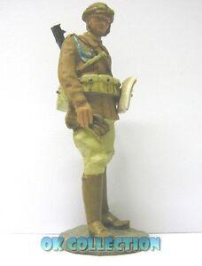 AgréAble Soldatino In Piombo 7 Cm Circa _ Motociclista Polizia - Africa Libia 1941 (08)