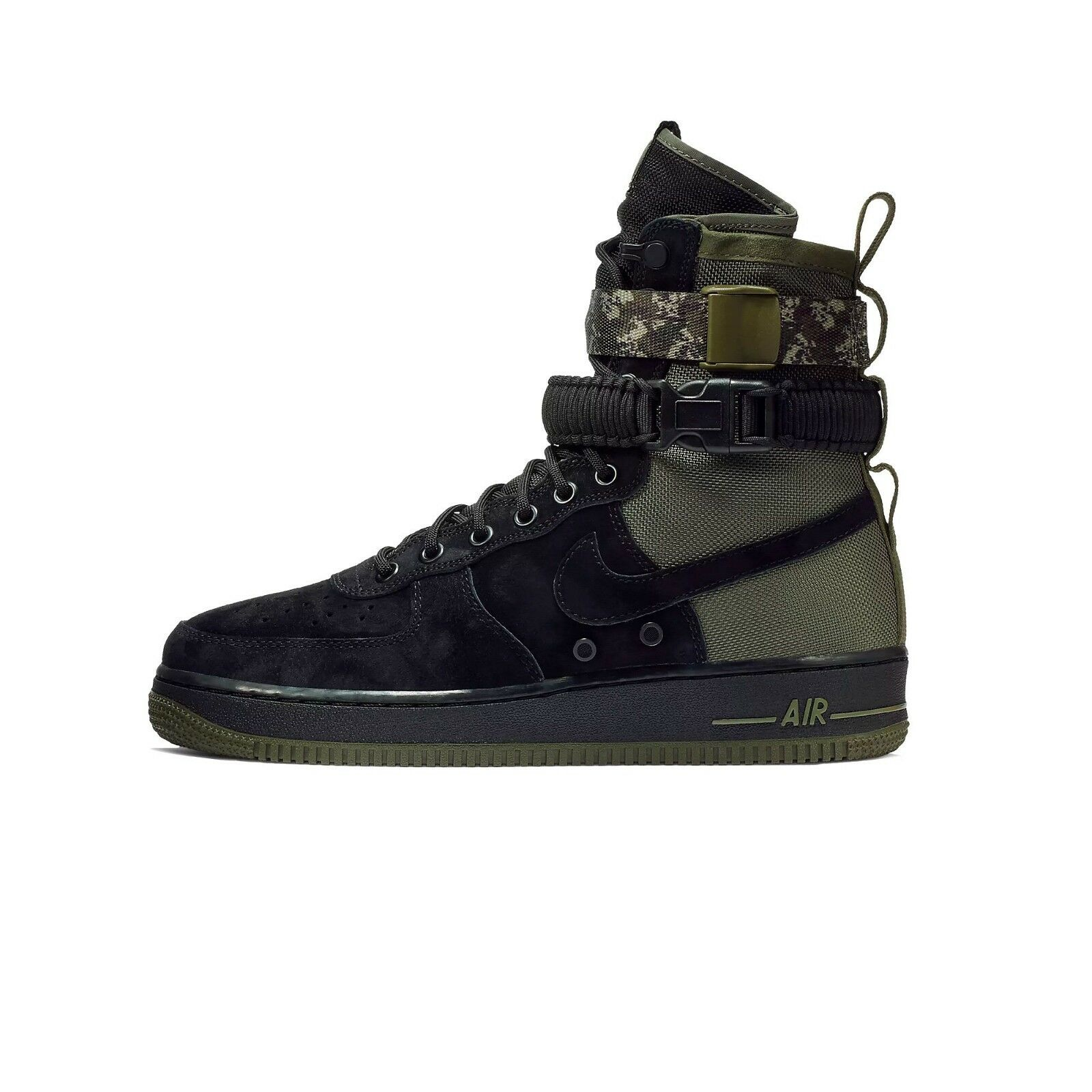 Nike air force force force 1 sf schuh schwarze olive camo sz 7.5 - 13. d6400e