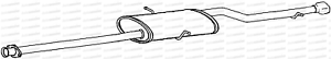 Tail Pipe Mercedes A160 Avantgarde 1.6 Hatch Swb 97-00 Exhaust Silencer Box