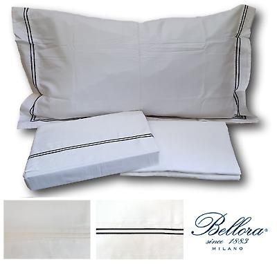 BELLORA. Completo Lenzuola BARCELLONA, Raso cotone 100%. Matrimoniale, 2 piazze. | eBay