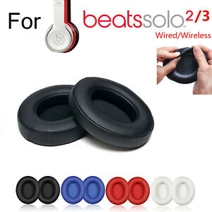 Replacement Ear Pads Cushion For Beats Dr Dre Solo 2 3 Wireless