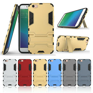 new arrival d6abf 6bb19 Details about Heavy Duty Tough Hybrid Armor Case Cover For Oppo R9S | R9S  Plus + Screen Guard