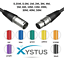 XLR-Cable-Microphone-Lead-Male-to-Female-Black-Blue-Red-green-orange-yellow thumbnail 9