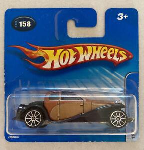 2005-HOTWHEELS-1932-Bugatti-Type-50-ORO-CLASSICI-molto-RARO-Nuovo-di-zecca-MOC