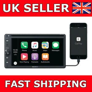 Sony-XAV-AX200-Apple-CarPlay-amp-Android-Auto-6-4-034-Car-Stereo-iPod-USB-Bluetooth