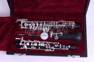 Profession-oboe-Nice-Sound-C-key-Ebonite-Body-3rd-Octave-left-F-Resonance