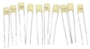 10-Condensateurs-Ceramique-Philips-NOS-560pF-5-NPO-100V-0-00056uF-0-56nF