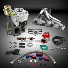 T25/T28 TD04 250HP+BOOST 6PC TURBO CHARGER+MANIFOLD KIT FOR MIATA MX5 BP14 1.8L