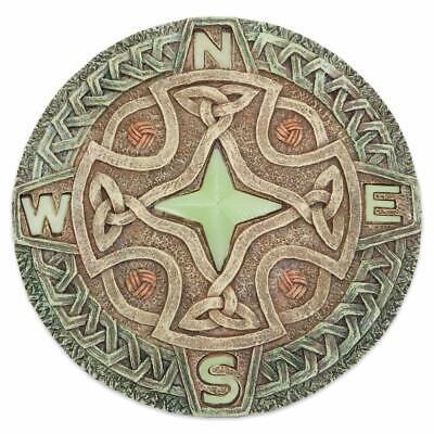 Dynamisch Trittstein Keltischer Kompass Mit Keltischen Ornamenten Celtic Neu!