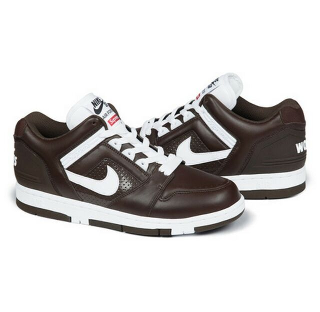 Air Sb Size 8 Brown Fw17 In 5 2 Supreme Hand Nike Force TKlF1Jc