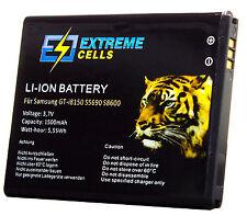 Extremecells Akku für Samsung Galaxy Xcover GT-S5690 wie EB484659VU Batterie