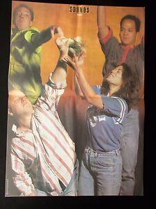 PIXIES-1990-UK-DOUBLE-PAGE-MAGAZINE-POSTER-SIZE-COLOUR-CENTRE-SPREAD-POSTER