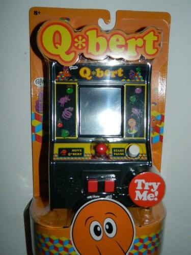 Q-Bert Mini Arcade Game Classic Table Top Handheld Retro Machine Video Games New