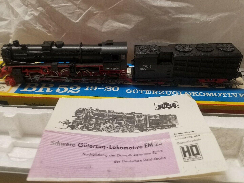 Locomotora de vapor piko br52 19 - 20 guterzuglooomotive ho