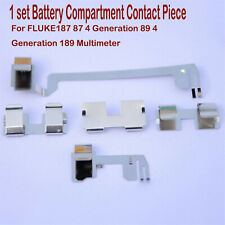 For Fluke187 87 4 Gen 89189 Multimeter Battery Compartment Contact Piece Parts