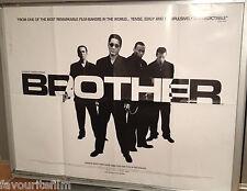Cinema Poster: BROTHER 2001 (Quad) Takeshi Kitano Claude Maki Omar Epps