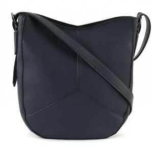 ESPRIT-Bolsa-Para-Cadaveres-Cruz-Colby-Shoulder-Bag-Navy
