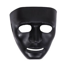 Deluxe Robot Mask Halloween Costume Dress Outfit - Black