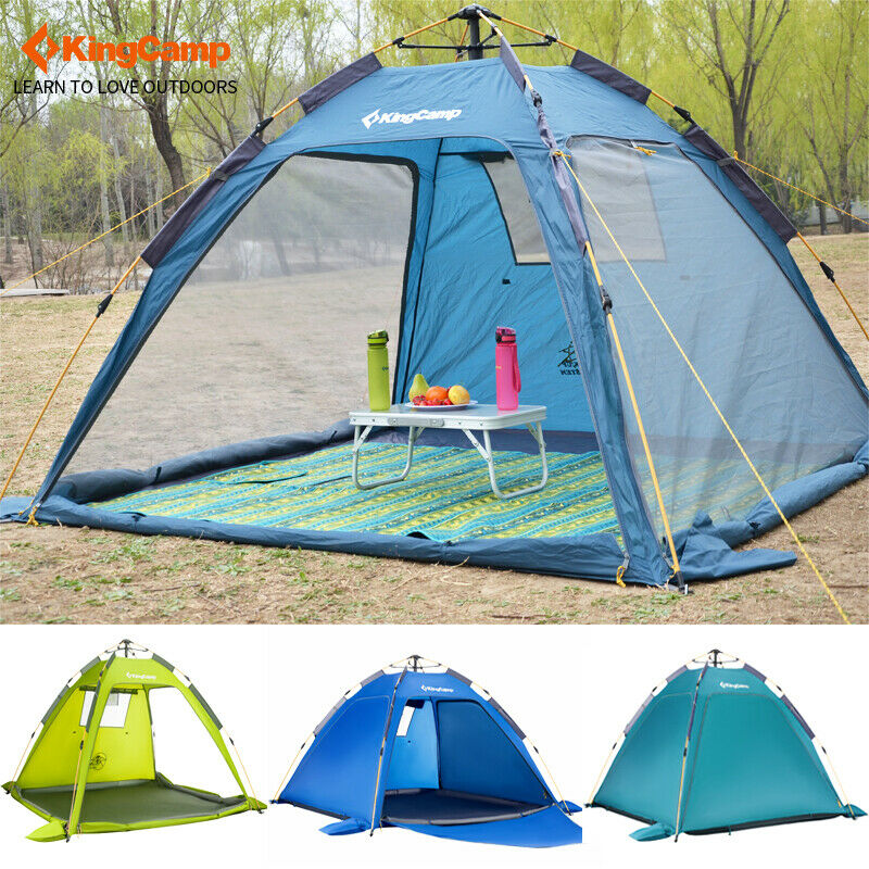 reCamp 3Persons Casual Beach Tent 2Season QuickUp Durable Roomy all'aperto