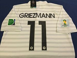 best service f71bf 06ff1 Details about FRANCE GRIEZMANN SOCCER JERSEY FIFA WORLD CUP BRASIL 2014  BARCELONA REAL MADRID