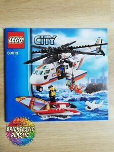 LEGO-INSTRUCTIONS-BOOKLET-ONLY-Coast-Guard-Helicopter-City-60013