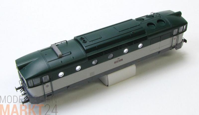 Ersatz-Gehäuse CSDL T478 3082 z.B. für ROCO Diesellok Rh 478 Spur H0 - NEU