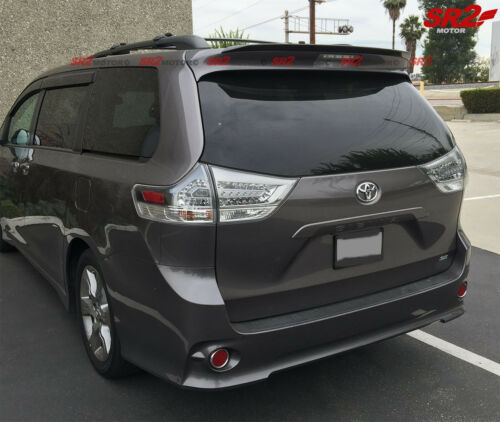 Real Carbon Fiber Add-on Rear Roof MP Style Spoiler Wing for 11-17 Toyota Sienna