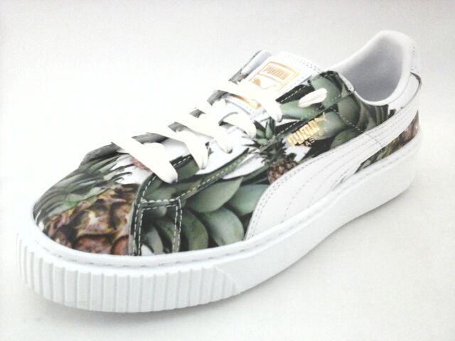 Puma Basket Platform Pineapple Shoes Sneakers 364730 Kids US 6.5C Women US  8 New 95e77c4d7