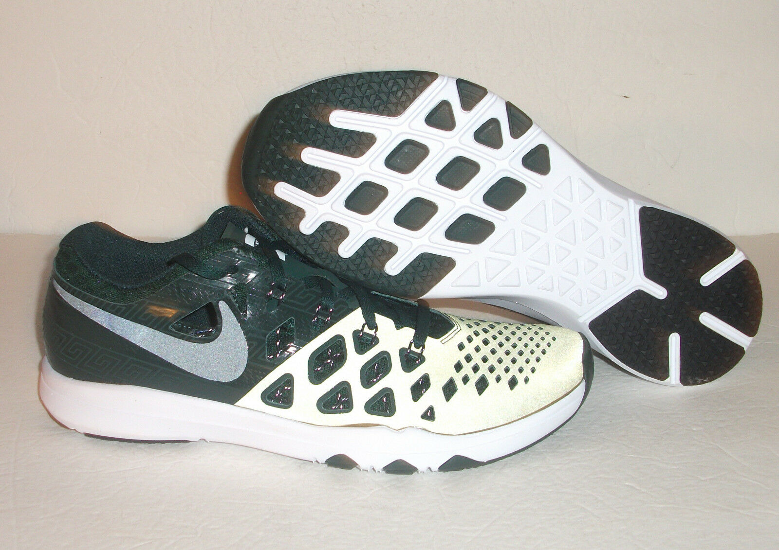 huge selection of 5ca5c 07431 New Nike Train Train Train Speed 4 AMP Michigan State, Men s Size 9.5, Green