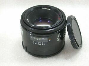 Minolta-AF-50mm-F1-7-Auto-Focus-Lens-Fits-Sony-Alpha-DSLRs-No-13106555-Ref-A